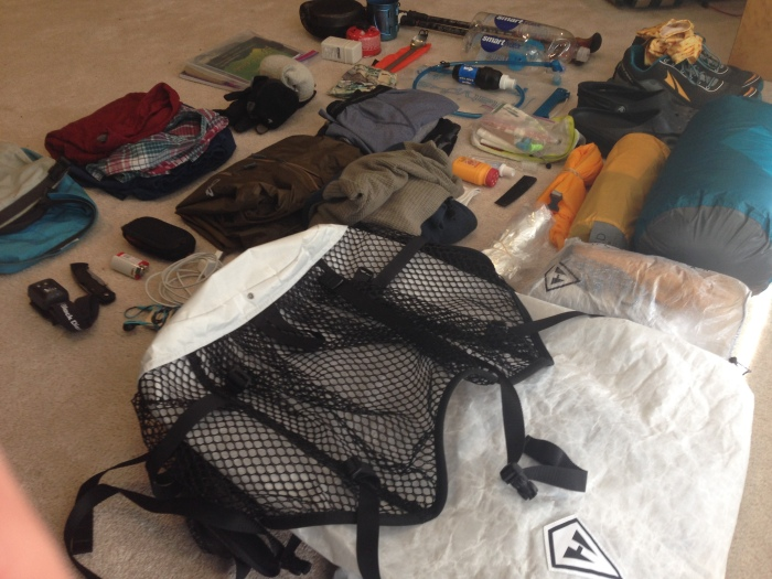 50 Liters To Freedom; A.T. GearList